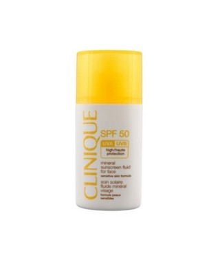 OUTLET - Clinique SPF 50 Mineral Sunscreen Fluid For Face 30 ml