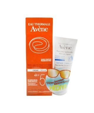 OUTLET - Avene Creme 50+ Sans Parfum + Avene After Sun 50ml Hediye