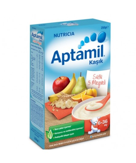 Milupa Aptamil 5 Meyveli Kaşık Maması 250gr