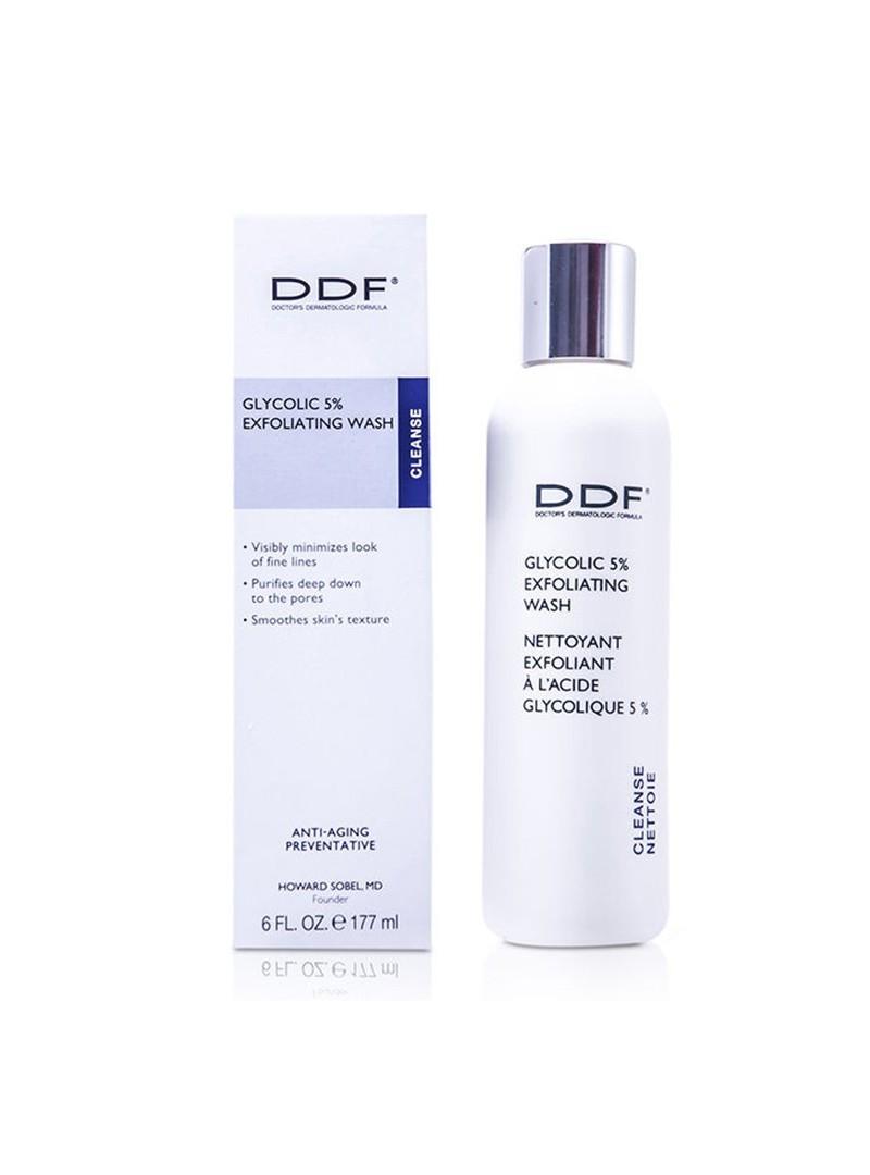 DDF Glycolic %5 Exfoliating Wash 177 ml