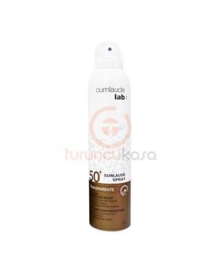 OUTLET - Cumlaude Lab Sunlaude SPF 50+ Transparente Spray 200ml