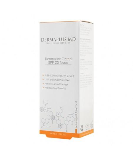 DermaPlus MD Dermazinc Tinted SPF30 60ml