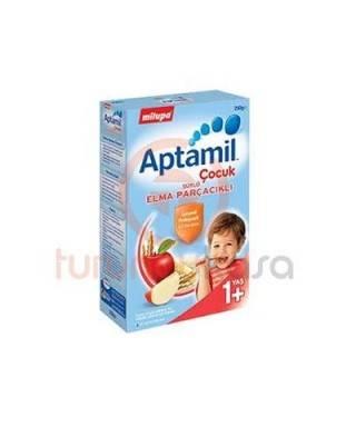 Milupa Aptamil Çocuk Sütlü Elma Parçacıklı 250 gr.