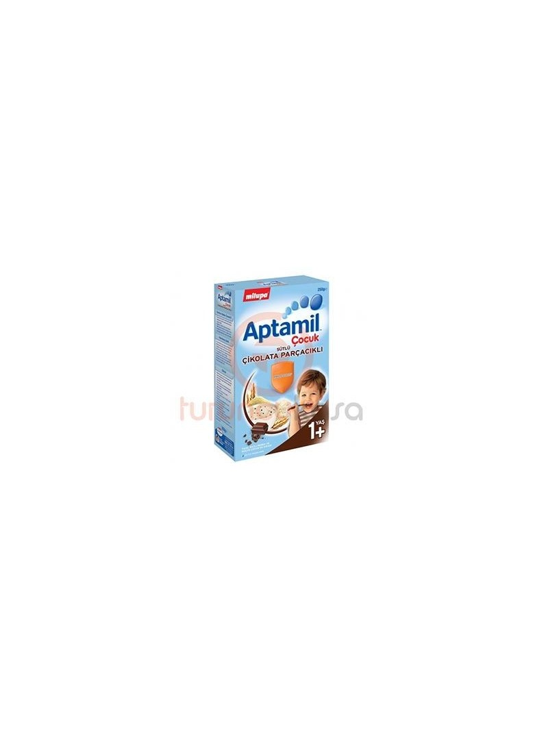 Milupa Aptamil Çikolata Parçacıklı 250 gr.