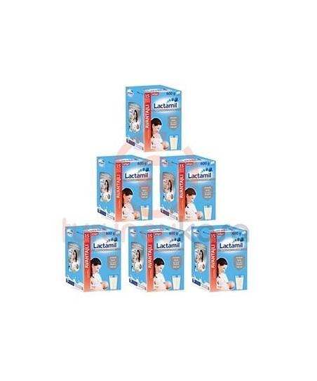 Milupa Lactamil 600 gr Emziren Anneler İçin Sütlü İçecek 6'Li Fırsat Paketi