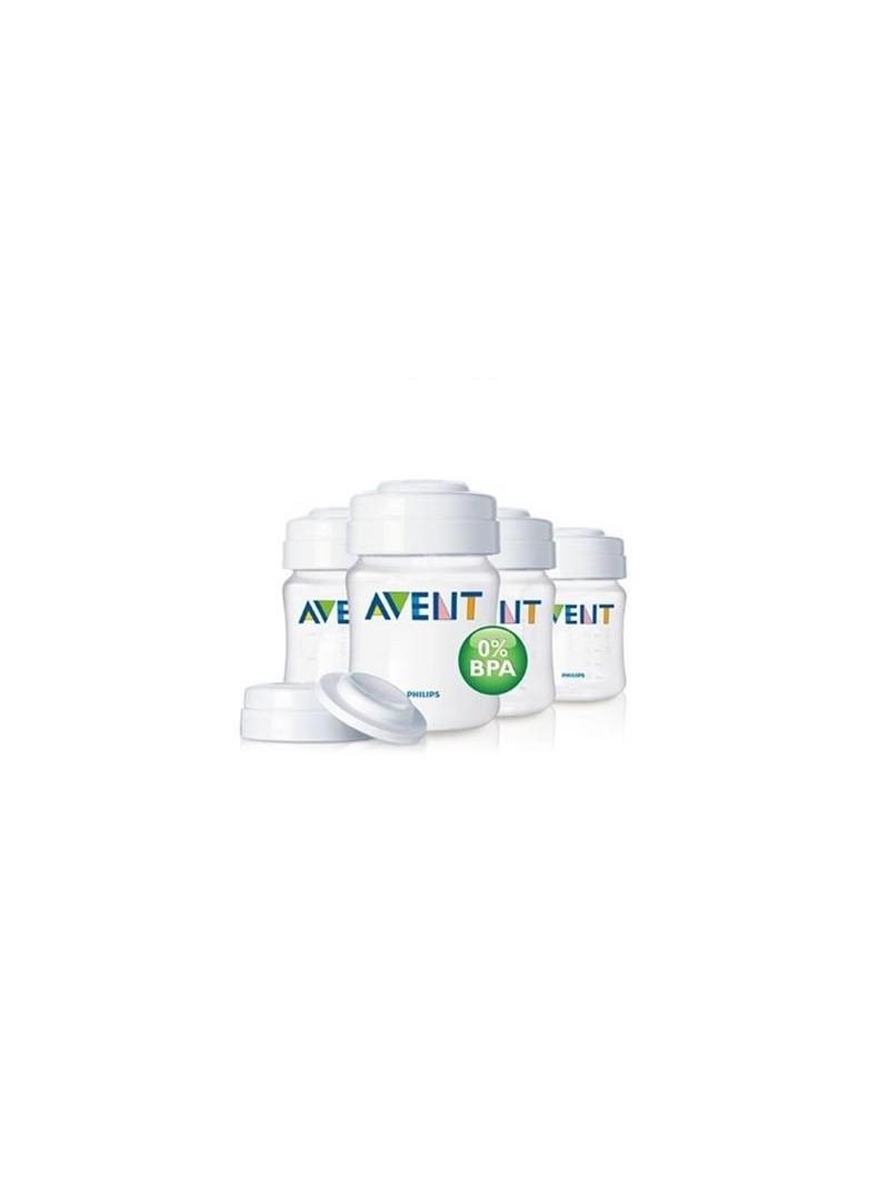 Philips Avent Mama Ve Süt Saklama Kabı 4'lü %0 BPA
