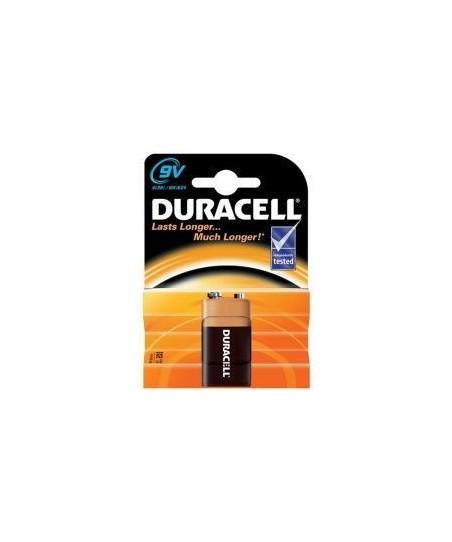 Duracell 6LR61/MN1604 9 volt Pil
