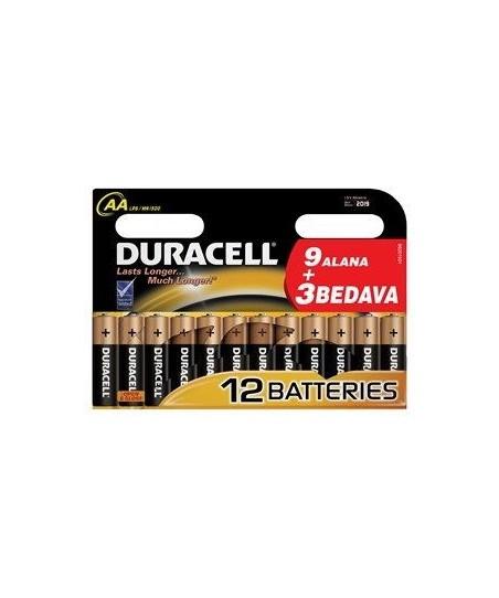 Duracell LR6/MN1500 9 Alana 3 Bedava Kalem Pil