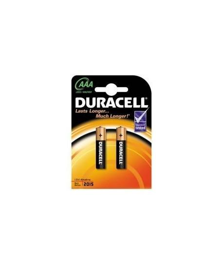 DURACELL LR03/MN2400 Alkalin AAA ince Kalem Pil 2Li