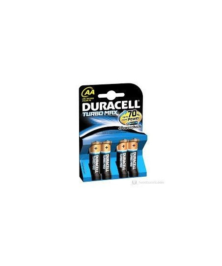 Duracell  AA Turbo Max LR6/MX1500  Kalem Pil
