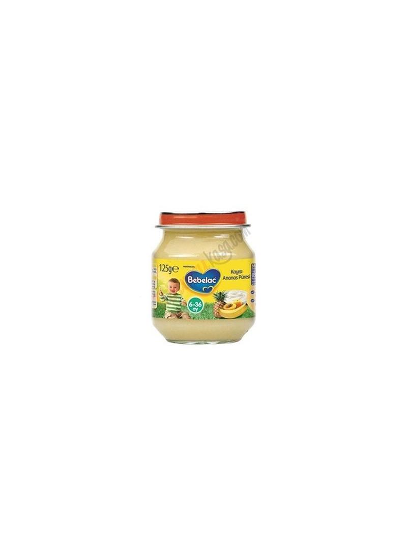 Bebelac Kayısı Ananas Püresi 125ml.