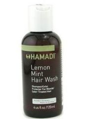 Hamadi Lemon Mint Hair Wash Shampoo/ Color Protector Limon Nane/ Renk Koruyucu Şampuan