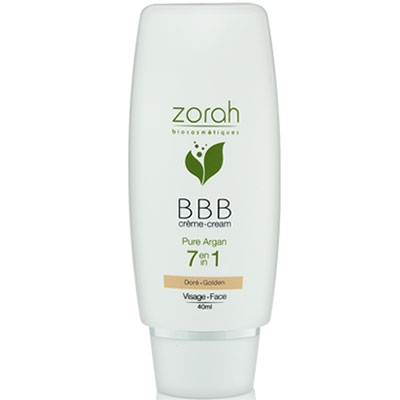 Zorah Pure Argan BBB Cream Beauty Balm 40ml - Golden BBB Krem :
