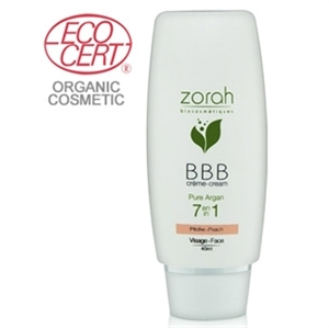 Zorah Pure Argan BBB Cream Beauty Balm 40ml - Pinkish Beige BBB Krem :