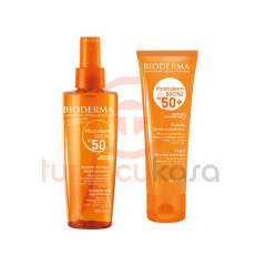Bioderma Photoderm Bronz Spray SPF 50 200 ml + Bioderma Photoderm Bronz Fluide Spf50+ 40 ml