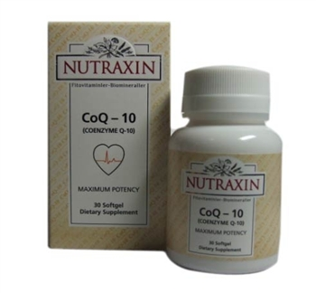Nutraxin Coq-10 Maximum Potency 30 Softgel :