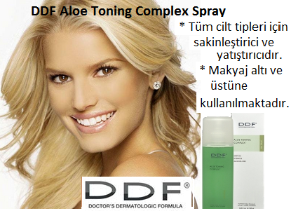 DDF Aloe Toning Complex Spray 250 ml :