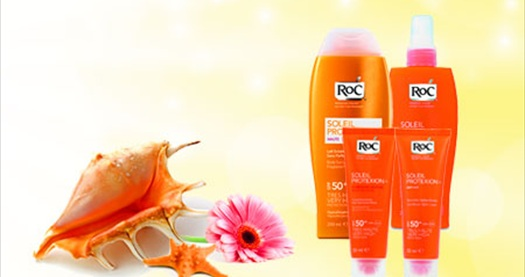 Roc Soleil Protexion SPF30+ Anti-Shine Fluid Cream 50 ml :