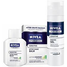 Nivea For Men Sensitive Hassas Ciltler için Traş Jeli 200 ml :