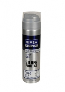 Nivea For Men Silver Protect Traş Jeli 200 ml :