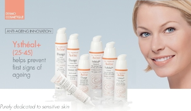 avene ystheal cream + eye contour