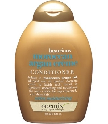 Organix Luxurious Moroccan Argan Creme Conditioner 385 ml Ekstra Nemlendirici Saç Kremi: