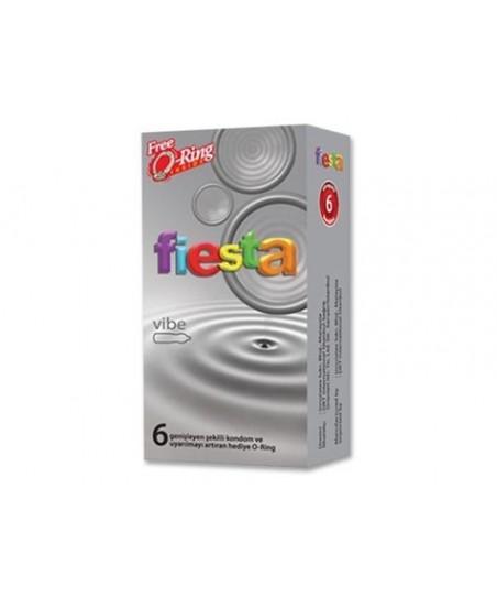 Fiesta Vibe Prezervatif (Titreşim Etkili) 6'lı
