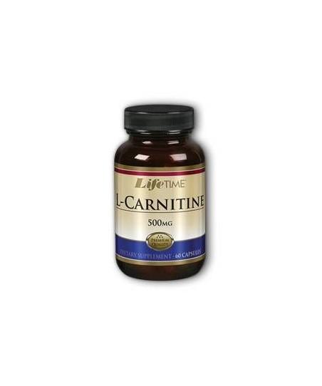 LifeTime L-Carnitine 500 Mg. 60 Kapsül