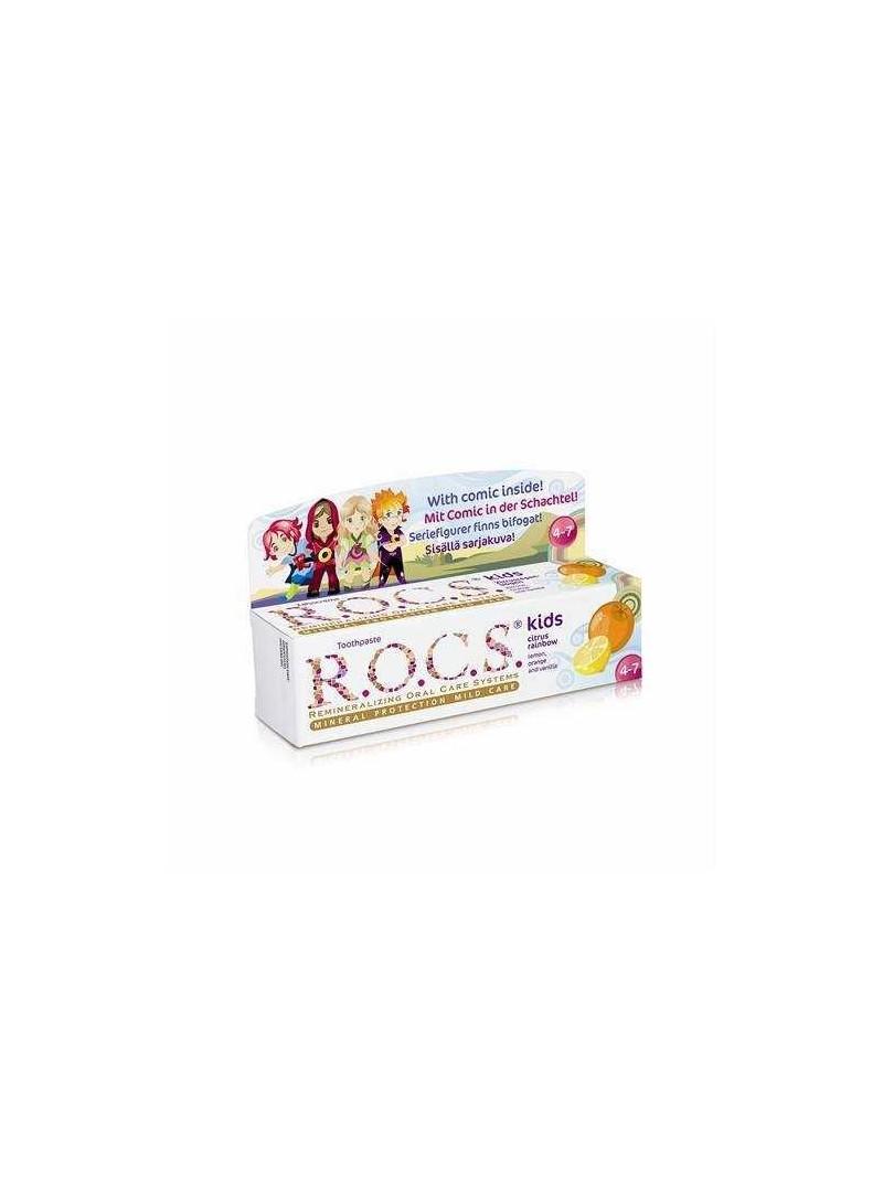 ROCS Kids Limon, Portakal, Vanilya