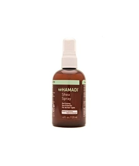 Hamadi Shea Hair Spray Güçlendirici Canlandırıcı,Parlaklık Verici Saç Spreyi 120ml