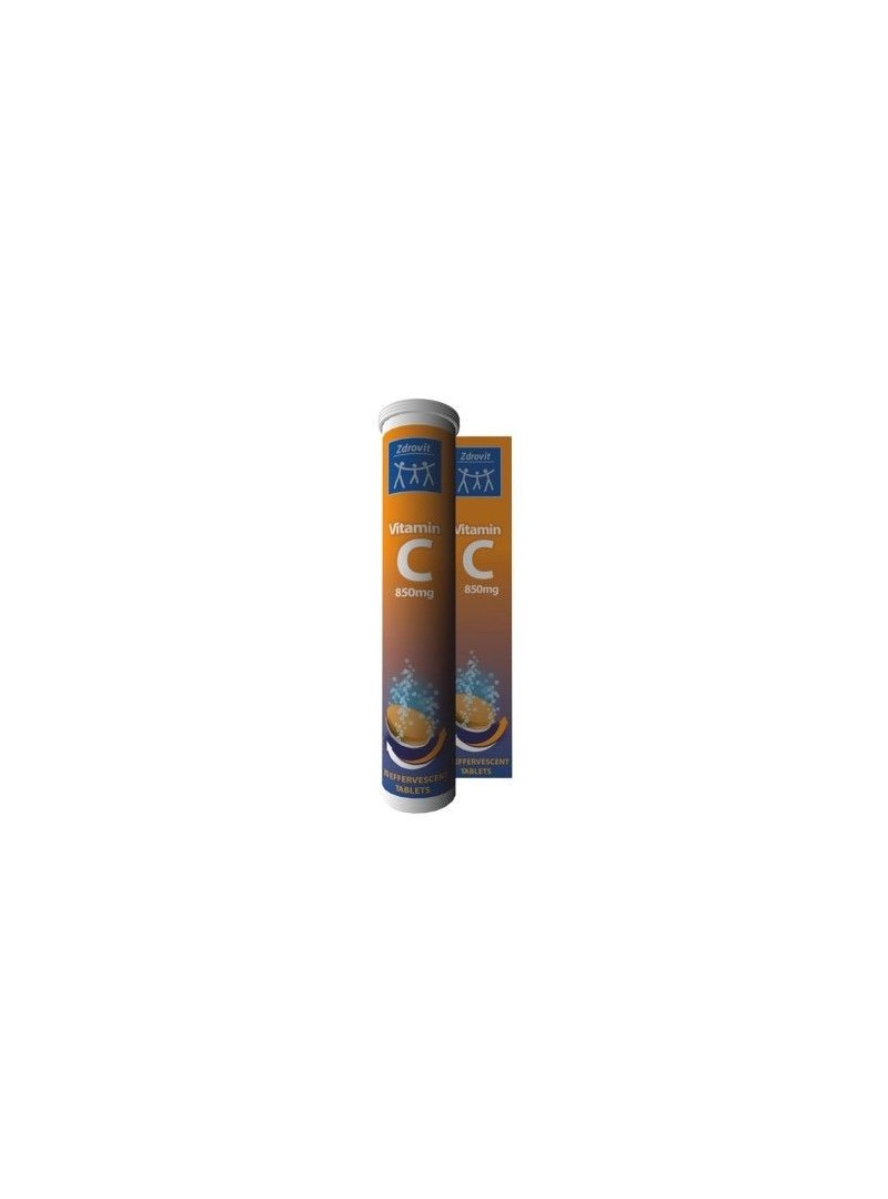 Zdrovit Vitamin C 20 Eff Tablet
