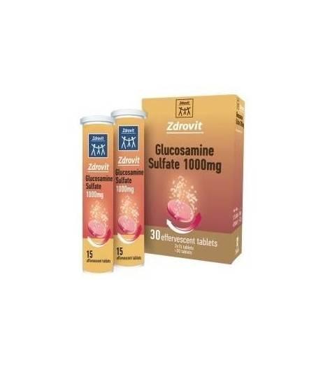 Zdrovit Glucosamine Sulfat 1000mg Efervesan Tablet