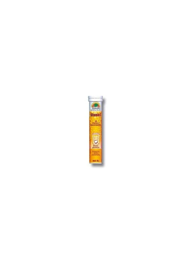 Sunlife Vitamin C 1000mg Efervesan 20 Tablet