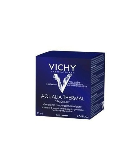 Vichy Aqualia Thermal Night Spa Cream Gel 75 ml Gece Kremi