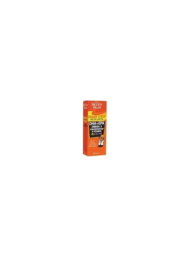 Seven Seas Orange Syrup 150ml Portakallı Şurup