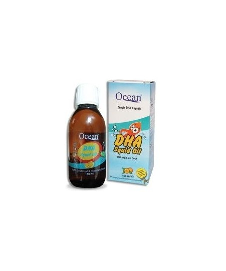 Ocean DHA Squid Oil DHA Şurup 150ml