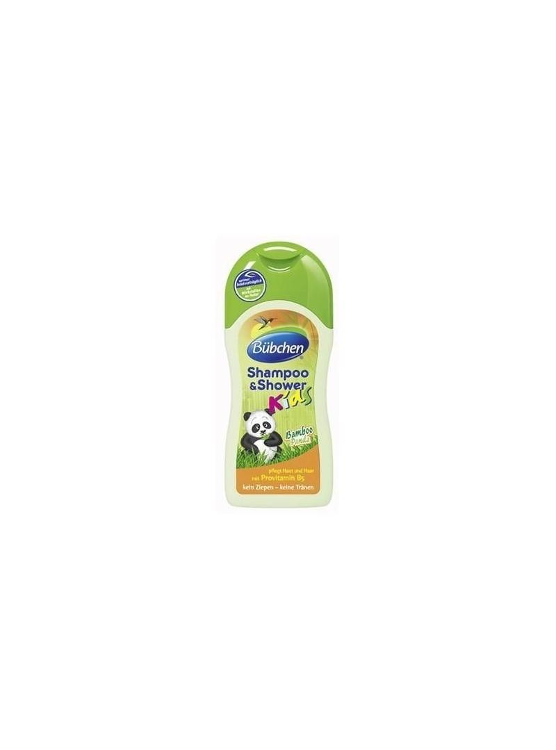 Bübchen Bamboo Panda Çocuk Şampuanı ve Duş Jeli 200 ml