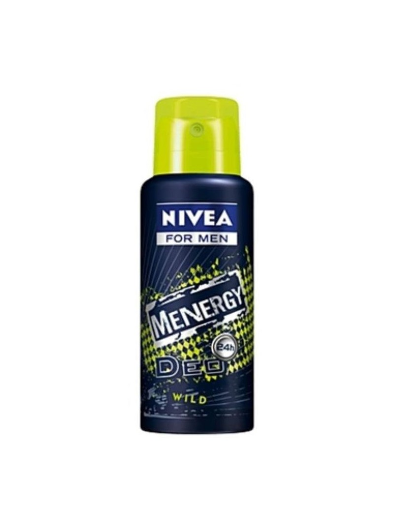 Nivea Menergy Wild Deo Spray 100 ml Erkek Deodorant