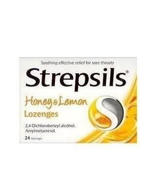Strepsils Bal ve Limon...