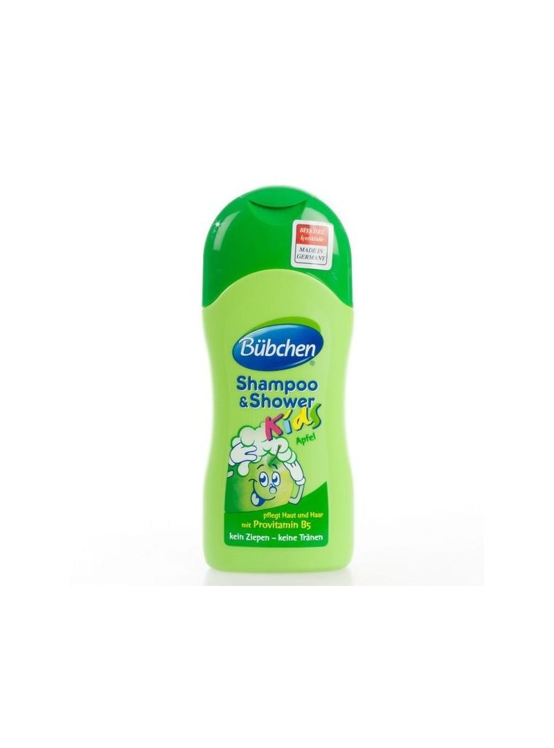 Bübchen Çocuk Şampuan ve Duş Jeli Elma 200 ml