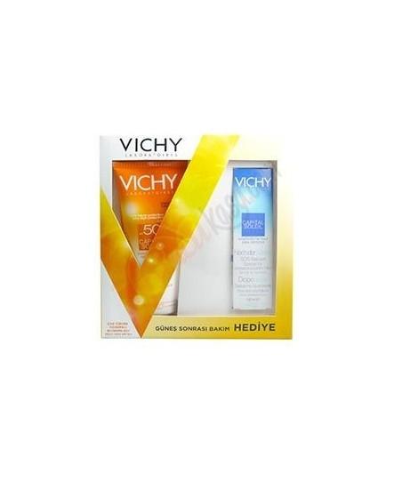 Vichy Capital Soleil Lait SPF 50+ Sun Milk 300 ml  + Güneş Sonrası Nemlendirici
