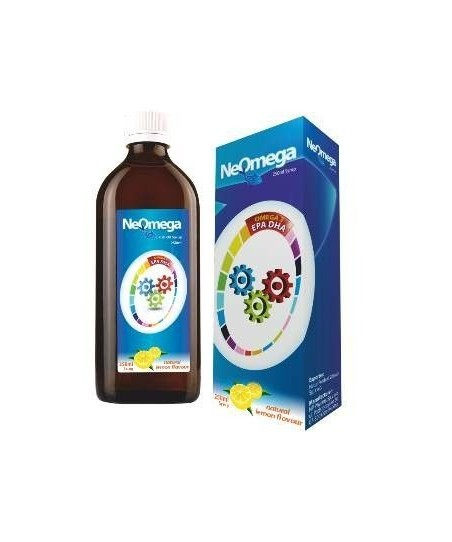 NeOmega Fish Oil Balık Yağı 250ml Şurup Limon