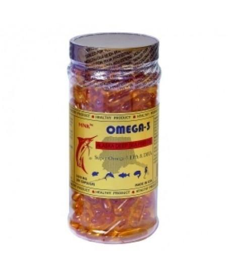 MNC MNK Omega-3 200 Kapsül