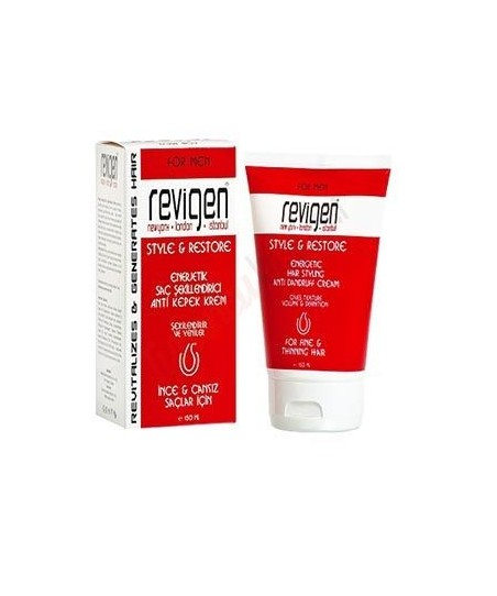 Revigen For Men Style & Restore Saç Kremi - Şekillendiricisi 150 ml
