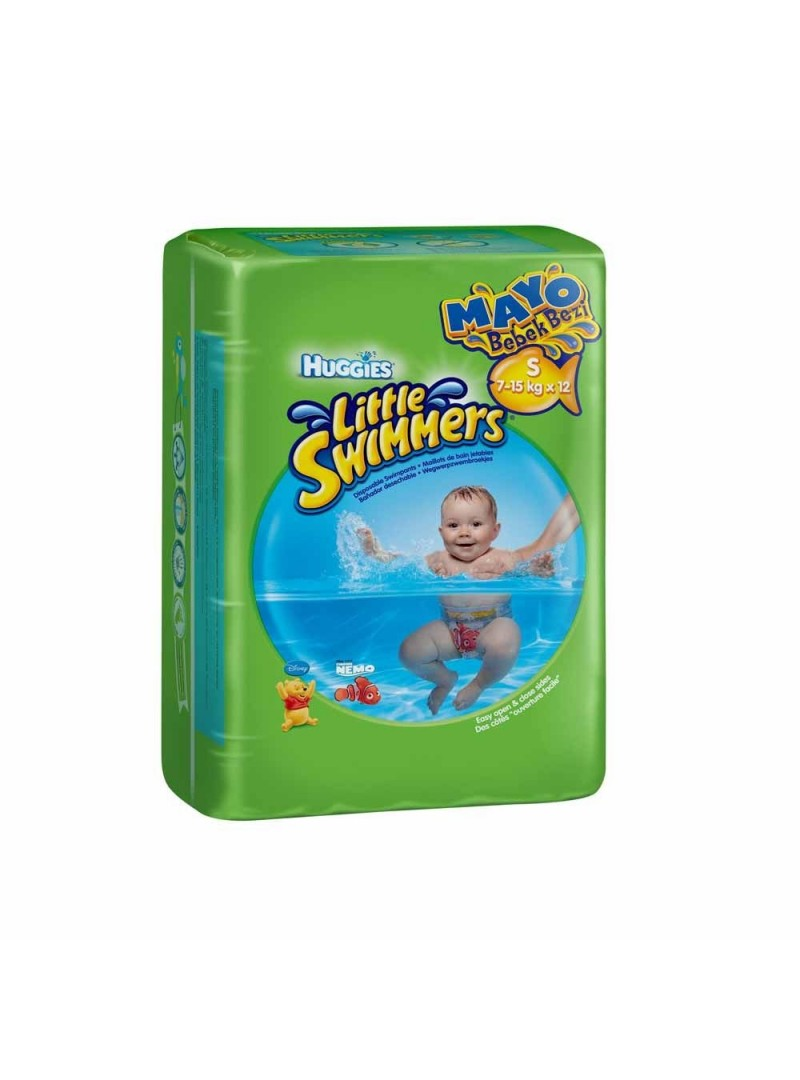 Huggies Little Swimmers S-M 7-15kg x 12