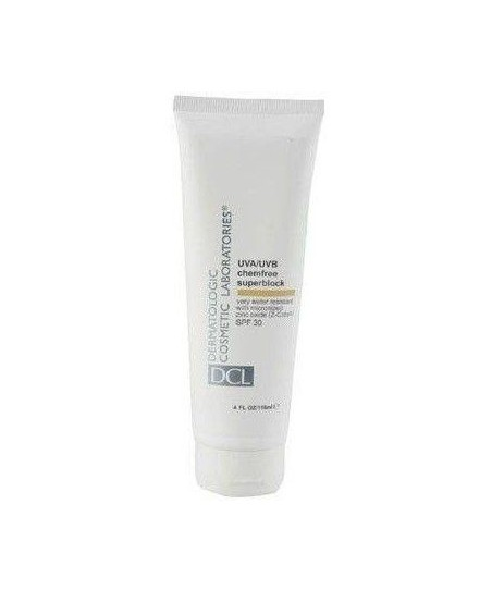 DCL UVAUVB Chemfree Superblock SPF30-118 ML