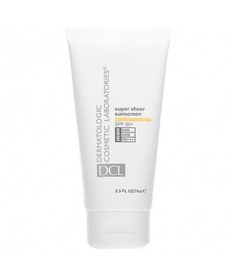 DCL Super Sheer Sunscreen Spf 50 74 ml
