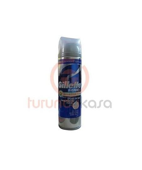 Gillette 3x Triple Protection Hassas Ciltler İçin Hafif Kokulu Tıraş Köpüğü 250 ml