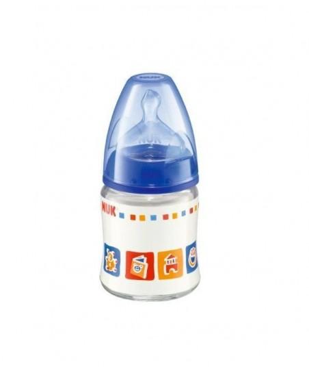 NUK FIRST CHOICE Silikon Emzikli Cam Biberon (120 ml)