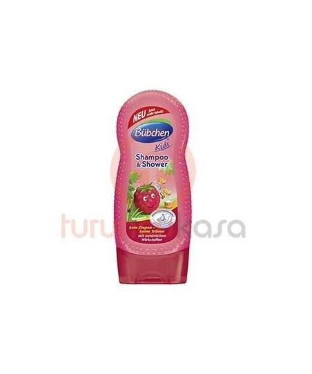 Bübchen Çoçuk Şampuan Ve Duş Jeli Frambuaz 230 ml